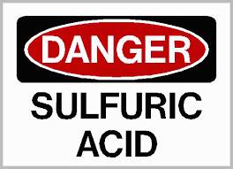 Danger - Sulfuric Acid